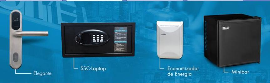 Fechaduras e cofres em destaque no stand da Saga Systems Brasil