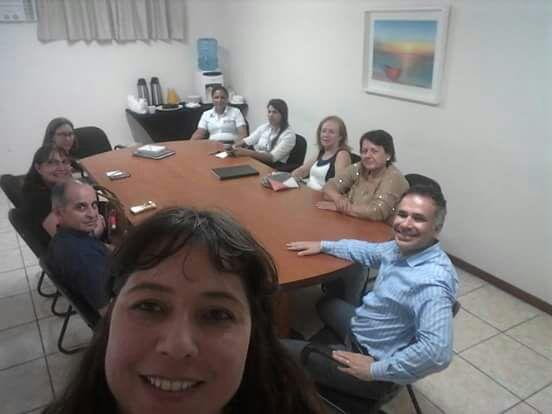 Membros do Comitê de Governança, Manutençaõ e Recepção Hoteleira do Encatho & Exprotel