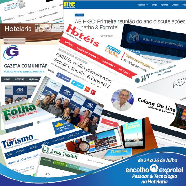 ABIH-SC e Encatho & Exprotel em destaque na mídia