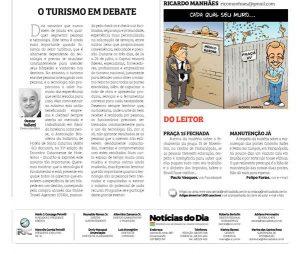 Encatho & Exprotel 2018 em artigo no Notícias do Dia