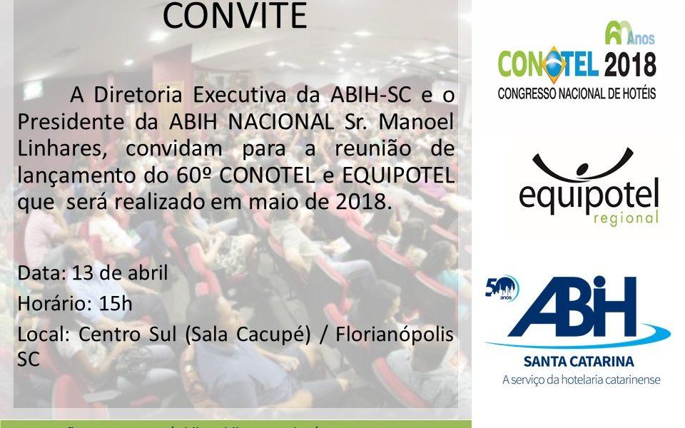 CONOTEL será lançada em Florianópolis