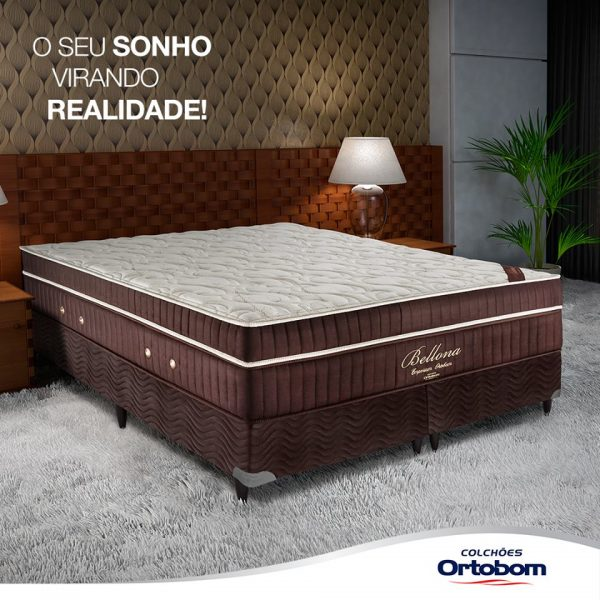 Ortobom: Conforto, qualidade e sofisticação