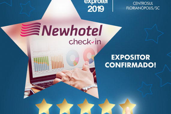 Newhotel Check-in confirma presença na Exprotel 2019