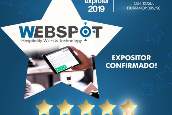 webspot confirma participação na Exprotel 2019 da ABIH-SC