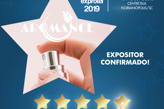 Aromance é expositora do Encatho 2019