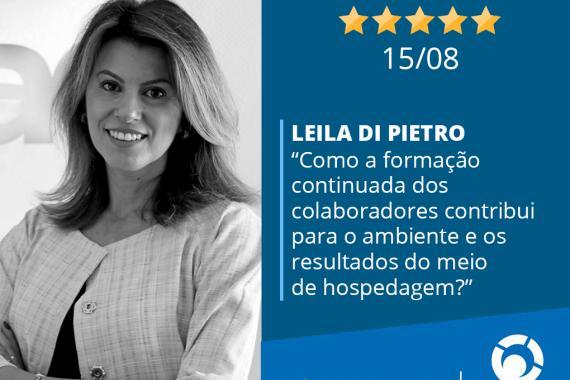 Leila Di Pietro é uma das palestrantes confirmadas para o Encatho 2019