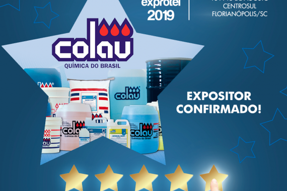 Colau na Exprotel 2019
