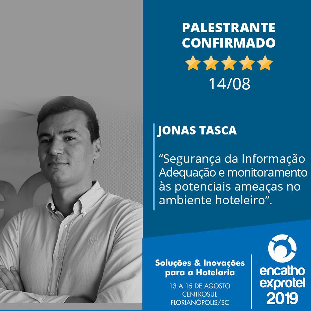 Jonas Tasca falará sobre tendências de mercado no Encatho