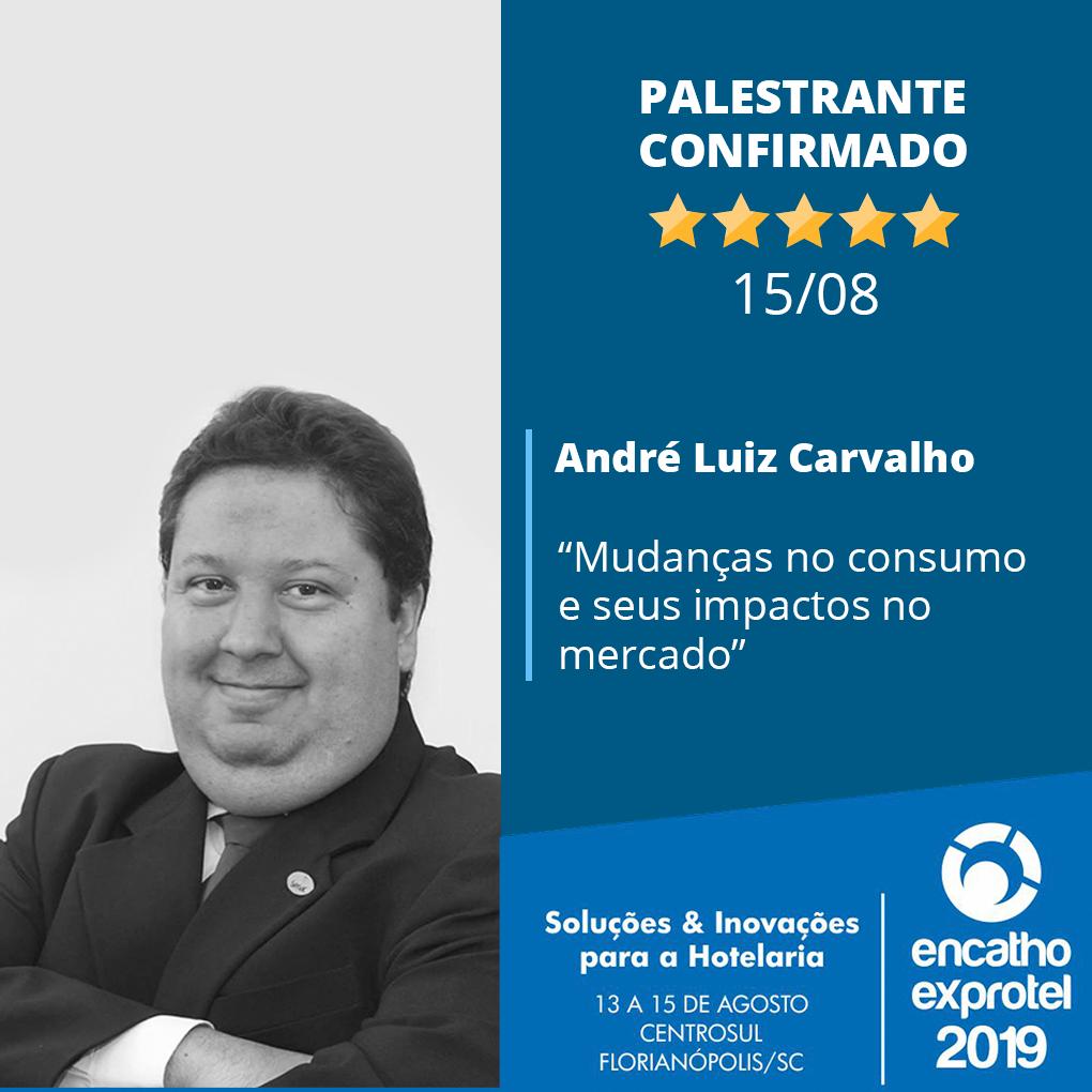 André luiz carvalho Qualificação e negócios para o turismo e a hotelaria