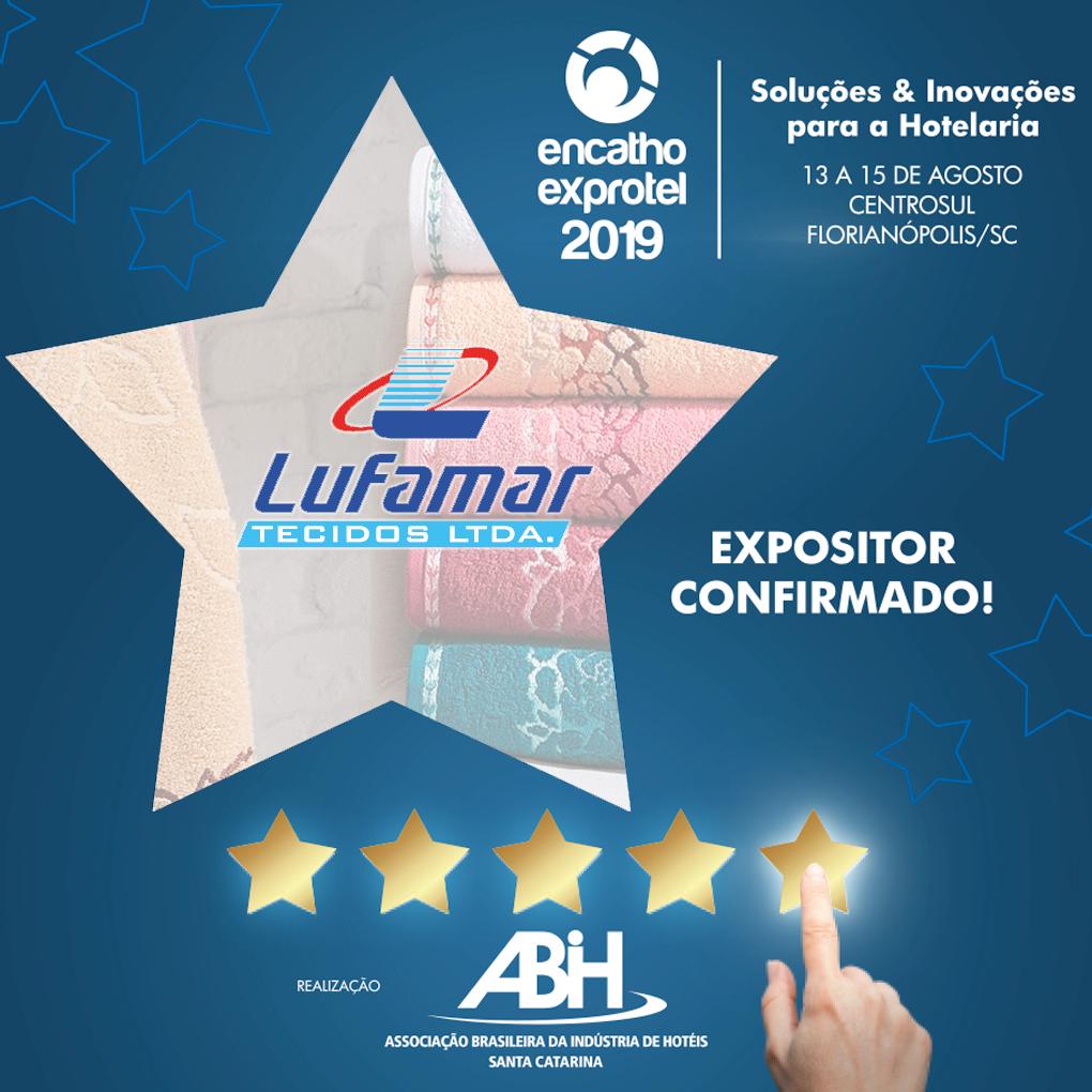 Lufamar participa da feira de negócios para o turismo e a hotelaria