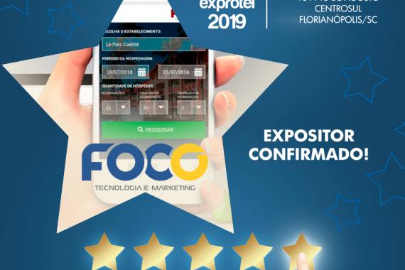 Foco Multimídia no Encatho e Exprotel 2019