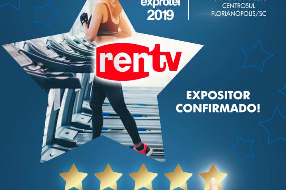 Rentv apresenta locações de eletroeletrônicos na Exprotel