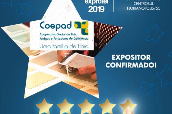 COEPAD também apresenta produtos de projeto social durante o evento