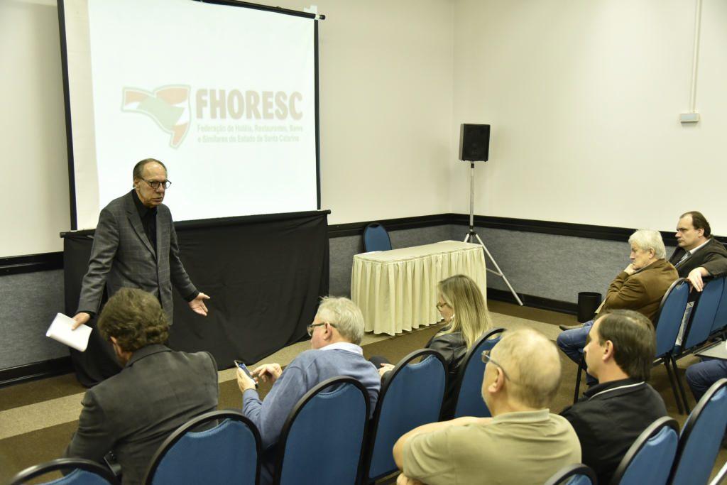 Reunião da FHORESC